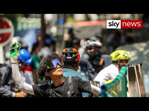 Myanmar protesters honour fallen comrades during demonstrations