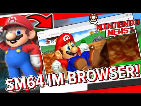 Super Mario 64 gibt es nun auch als Browser Spiel - NintendoNews
