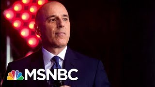 After Matt Lauer's Statement, A Talk About Power And Culture | Morning Joe | MSNBC