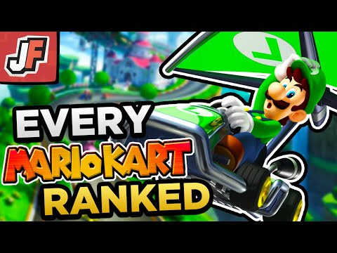 Ranking ALL The BEST Mario Kart Games From Worst to Best! (Top 10 Edition)