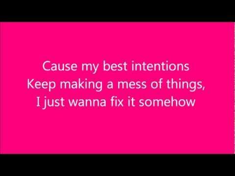 Get It Right - Glee Cast Version w/ lyrics