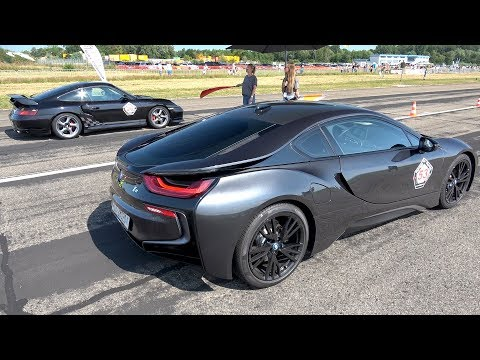 BMW i8 PP Performance vs Porsche 996 Turbo vs BMW M3