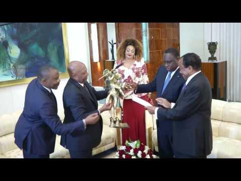 Visite au Cameroun de S.E. Macky SALL, Président de la République du Sénégal