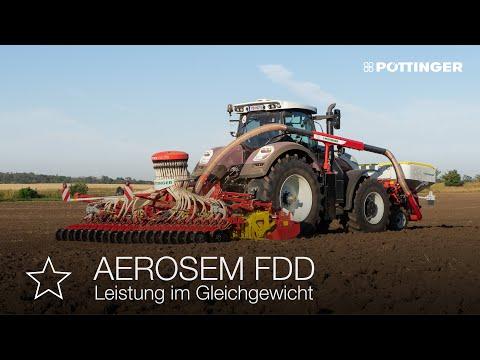 AEROSEM FDD: новая сеялка с фронтальным бункером