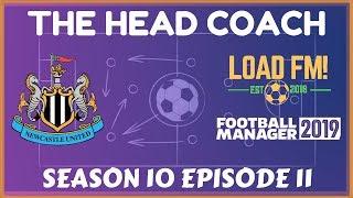 FM19 | The Head Coach | S10 E11 - EUROPA LEAGUE FINAL | Football Manager 2019
