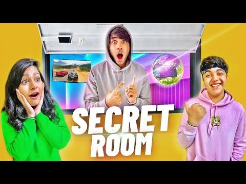 WE BUILD A HIDDEN SECRET ROOM IN OUR HOUSE | Rimorav Vlogs