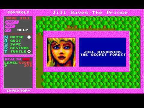 Jill of the Jungle: Jill Saves the Prince (Epic MegaGames) (MS-DOS) [1992]