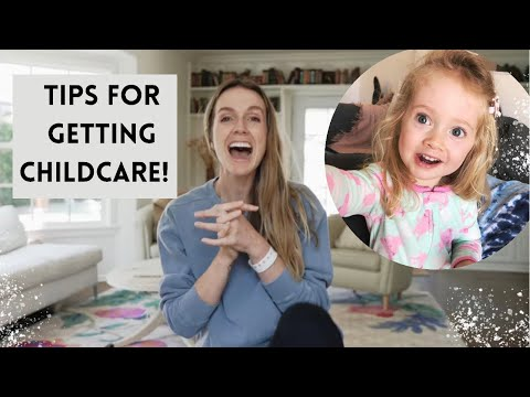 Starting childcare tips! (How to leave your child with nanny/babysitter/daycare (+ avoid tears!!)