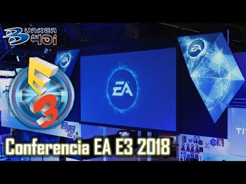 Conferencia Electronic Arts E3 2018 : EA Streaming en directo