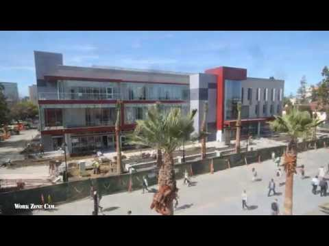 San José State University Wellness Center Timelapse Construction Video