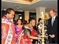 Swaziland king visits India with 15 wives, 30 children, 100 servants (Yesterday Video)