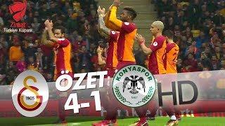Galatasaray - Atiker Konyaspor Maçı Özeti