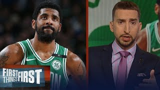 Kyrie had the worst 4-game stretch of his entire NBA career - Nick Wright | NBA | FIRST THINGS FIRST