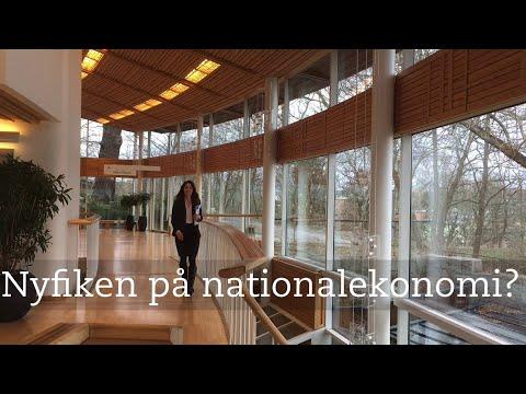 Vad är nationalekonomi?