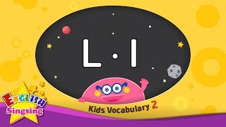 Kids vocabulary compilation ver.2 - Words starting with L, l - Learn English for kids