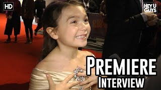 Brooklynn Kimberly Prince | The Florida Project Premiere Interviews | London Film Festival 2017