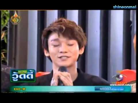 EXO-M speaking Thai