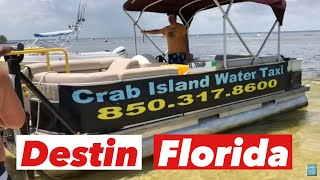 Crab Island Destin, FL True Southern Accent