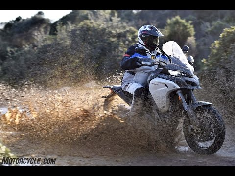 2016 Ducati Multistrada 1200 Enduro Review