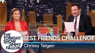 Best Friends Challenge with Chrissy Teigen