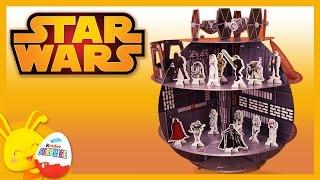 Star Wars - Jouets - Personnages de Star Wars et l'Etoile noire