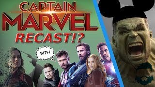 Disney & Avengers Cast UPSET W/ Brie Larson & Captain Marvel!  Recast Incoming?