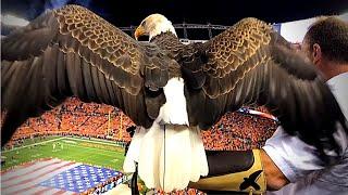 Challenger Flies at Denver Broncos Games 9/11/17