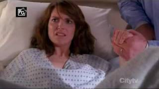 30 Rock: Liz gives birth to Meat Cat