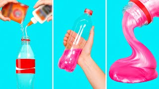 Super Fast Slime Recipe! DIY 30 SECONDS Bottle Slime