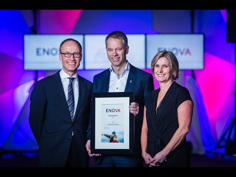 Enovaprisen 2017: Knut Simon Helland i Statoil