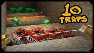 ✔ Minecraft: 10 Maneiras de Fazer Armadilhas