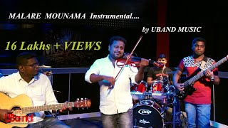 Malare Mounama song hd by Uband