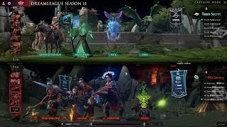 Bungcast: Team Secret vs Vici Gaming GAME 3 DreamLeague Season 11  Upper Bracket Round One
