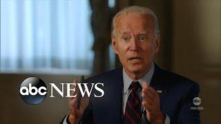 Joe Biden, Kamala Harris talk COVID-19 and taxes with ABC's David Muir l The Ticket - Part 1