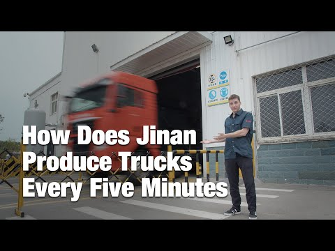 How Jinan Produces a Truck Every 5 Minutes