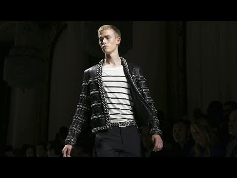 Balmain | Spring Summer 2018 Full Fashion Show | Menswear