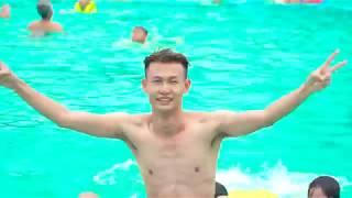 DUY THƯỜNG |4K Phá Tan Cơn Nóng Mùa Hè Tại Bể Bơi Cùng Gái Xinh