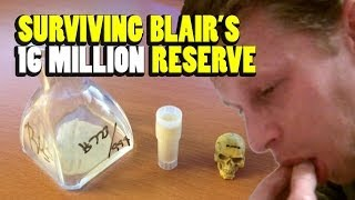 SURVIVING BLAIR'S 16 MILLION RESERVE - 15 minutes of hell with the HOTTEST THING on the planet!