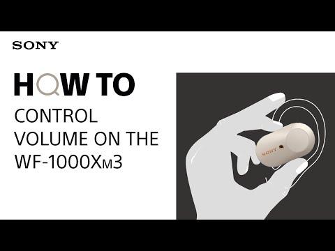 Volume Control: WF-1000XM3
