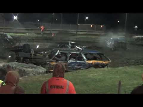 Halloween Limited Weld Demolition Derby 2018 (Bay county fairgrounds) Bay City,Michigan