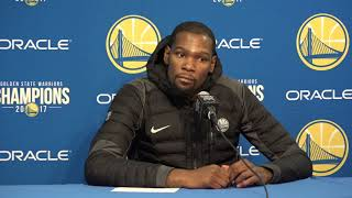 Kevin Durant Postgame Interview / GS Warriors vs Nuggets / Dec 23