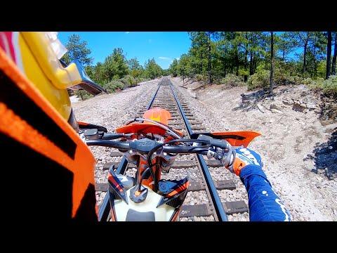 GoPro: Motorcycle vs. Train