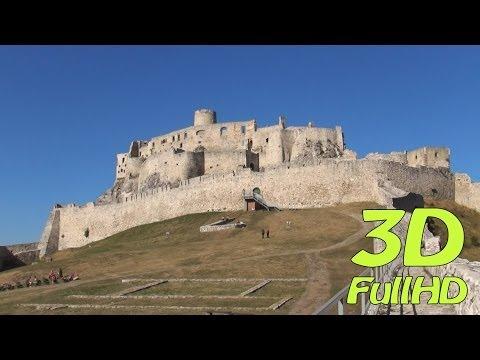 [3DHD] Spiš Castle, Spišské Podhradie, Slovakia / Spišský hrad, Slovensko / Zamek Spiski