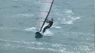 Windsurf en la bahia de donostia