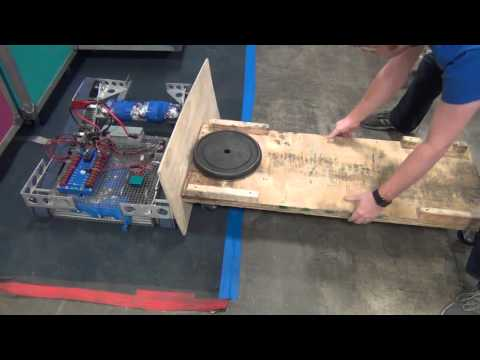 Rhino Track Drive Pulley Testing