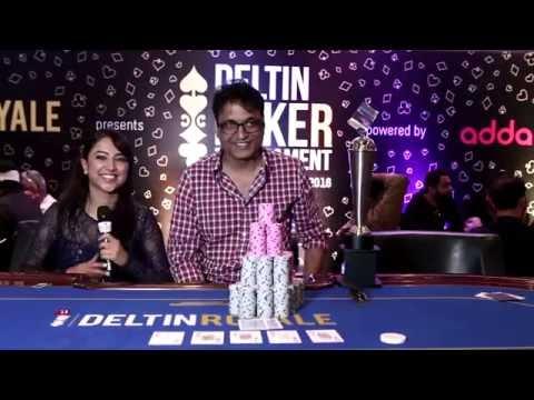 The winner of 60K High Roller at Deltin Poker Tournament powered by Adda52.com