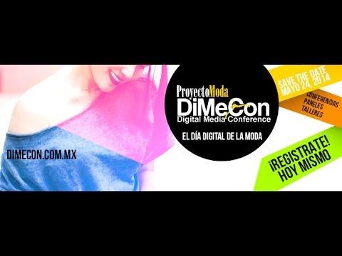 DiMeCon2014 El Día Digital de la Moda