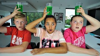 SLIME PRANK CHALLENGE!! Don't Spill The Wrong Cup