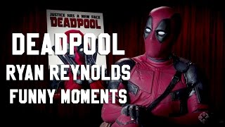 DEADPOOL Ryan Reynolds | Funny Moments BLOOPERS
