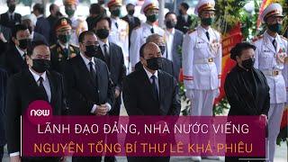 Lãnh đạo Đảng, Nhà nước đến viếng Nguyên Tổng Bí thư Lê Khả Phiêu | VTC Now